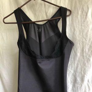 Bali black shapewear top size 2xl-fits like xl